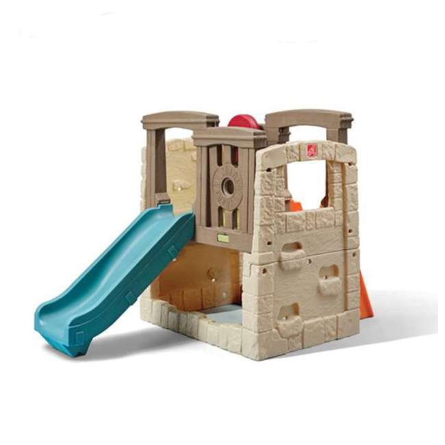 4902KR Step2 Naturally Playful Woodland Climber II Outdoor Activity Center with Slide
