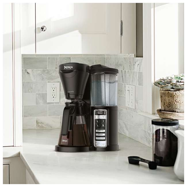 CF020 + CBCF080 + 2 x CF14HOMEW Ninja Coffee Brewer + Recipe Book + 14-Ounce Cup (2 Pack) 2