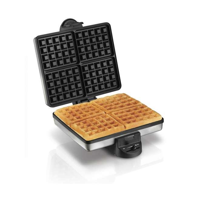 26016A Proctor Silex 4-Piece Belgian Waffle Maker | 26016A 1