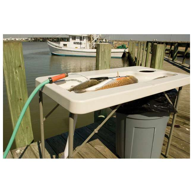 CCC-300 Coldcreek Outfitters Fillet Station Fish Cleaning Portable Outdoor Table w/ Sink 6