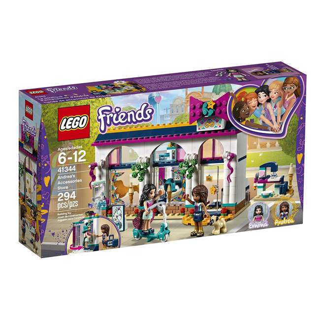6213474-U-A LEGO Friends Andrea's Accessories Store Block Building Kit Set (Open Box) 4