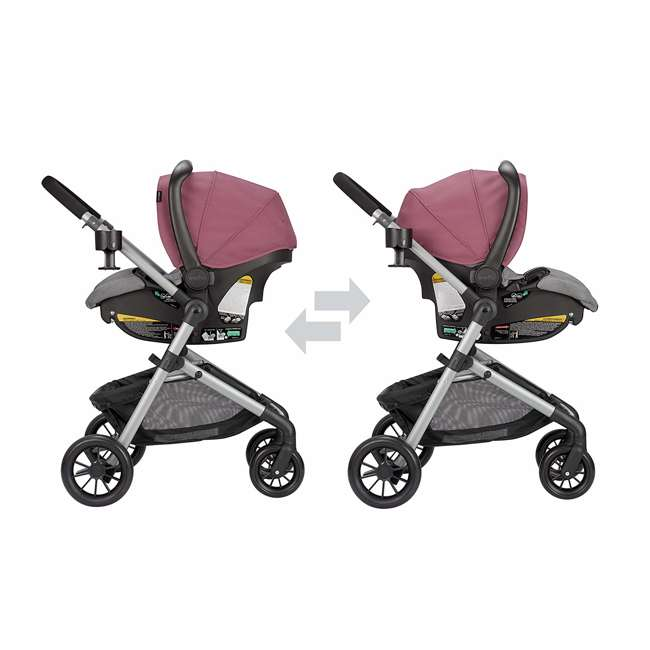 56012217 Pivot Stroller & Car Seat Travel System, Dusty Rose 3