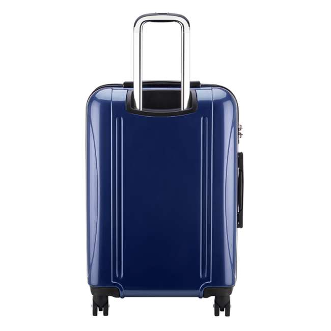 "07647BD DELSEY Paris Aero 25"" Lightweight Hardside Expandable Rolling Travel Bag, Blue 2"