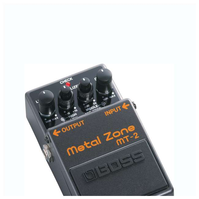 MT-2-OB Boss MT-2 Metal Zone Multi Effects Guitar Pedal Stompbox (Used) 3