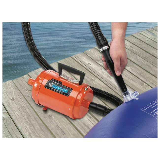 DIDA-1 MetroVac MagicAir Deluxe Inflator and Deflator, Orange 1