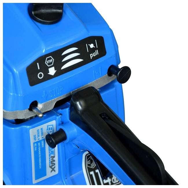 BLMAX-8901 Blue Max 8901 2-in-1 14-Inch/20-Inch Combination Chainsaw, Blue (Non-CARB Compliant) 6