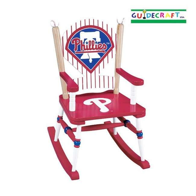 G11126 Guidecraft Phillies Rocking Chair