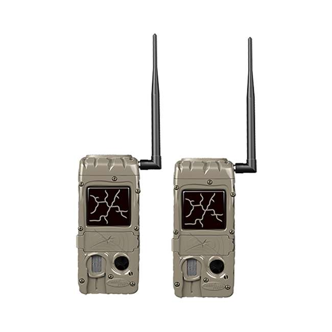 G-5079 CuddeLink Power House Black Flash 20 MP Wireless Network Trail Camera (2 Pack)