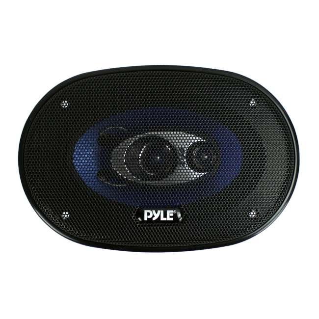 12 x PL463BL Pyle PL463BL 4x6-Inch 240W 3-Way Speakers (24 Speakers) 3