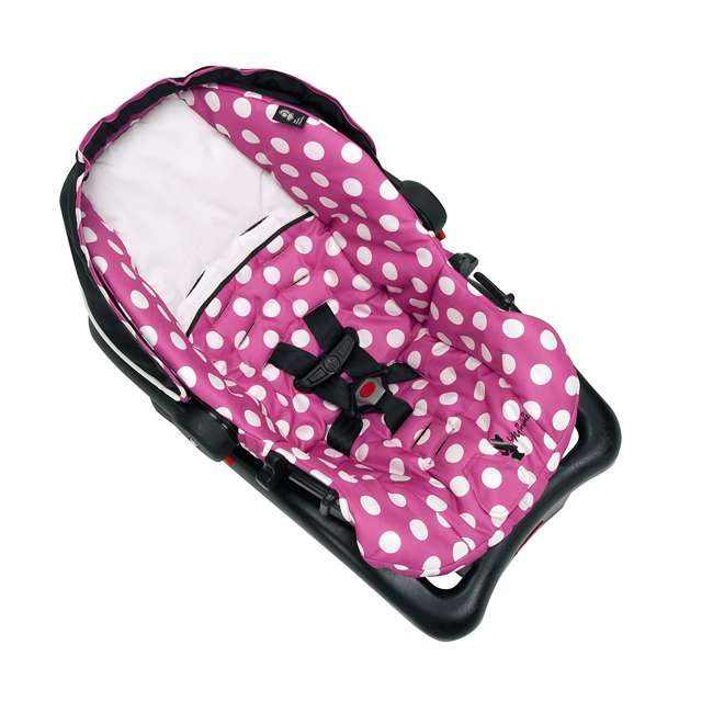 IC233BZE Disney IC233BZE Light and Comfy 22 Luxe Minnie Mouse Infant Seat, Pink 3