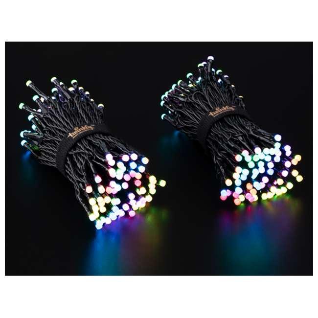 TWS250STP-BUS Twinkly Smart Decorations Custom 250 Bulb LED RGB App-Controlled String Lights 3