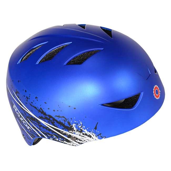 97974 Razor Ambush Child's Helmet, Blue (2 Pack) 2