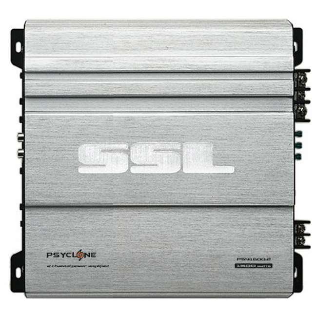 PSY16002 SoundStorm Ssl PSY1600.2 1600W 2 Channel Amplifier with Remote
