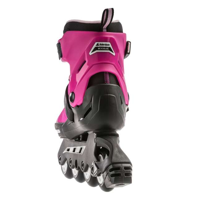 079573007G4-5 Rollerblade USA Microblade Girls Adjustable Inline Skate, Size 5 2