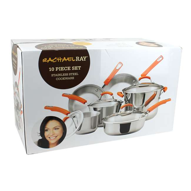 75813 Rachael Ray 10-Piece Cookware Set 7