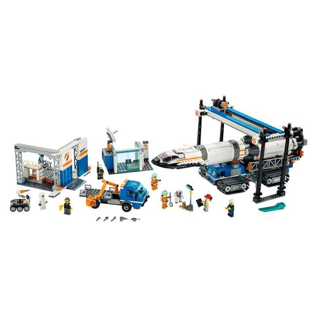 6251738 LEGO City Rocket Assembly & Transport 1055 Piece Building Kit w/ 7 Minifigures