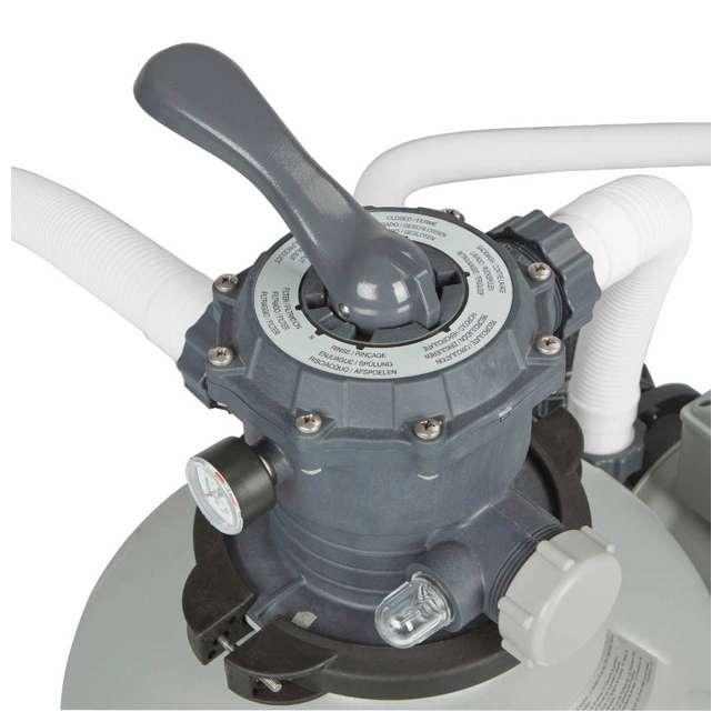 28651EG Intex Krystal Clear 3,000 GPH Above Ground Pool Sand Filter Pump 5