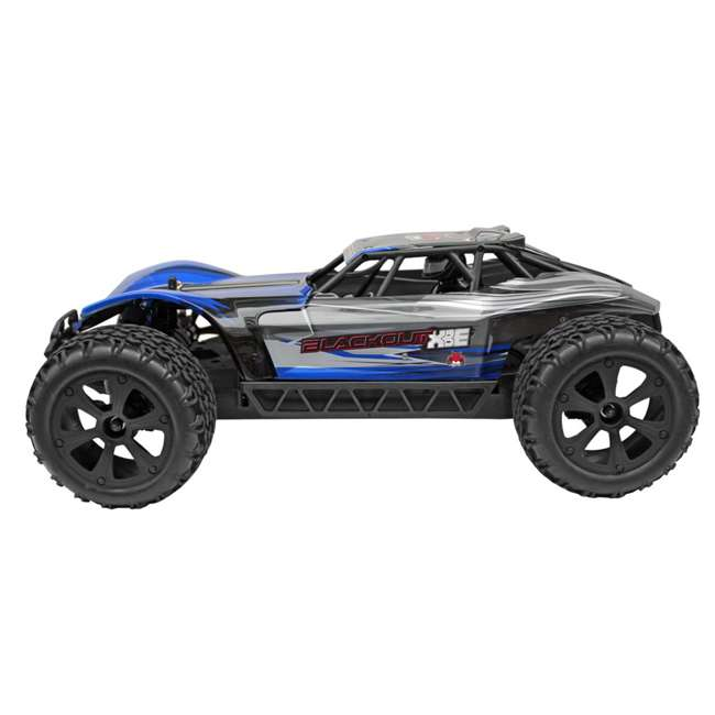 BLACKOUT-XBE-BLUE-U-C Redcat Racing 1/10 Scale Brushed Electric RC Monster Buggy, Blue (For Parts) 4