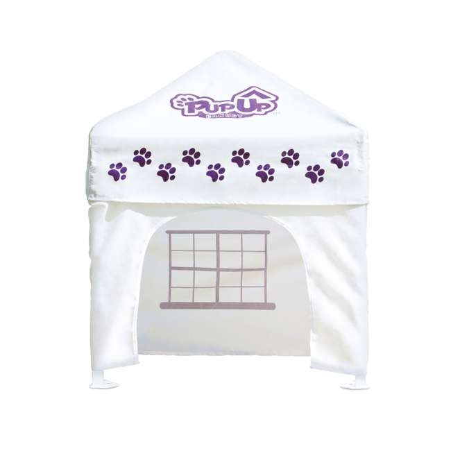 CVANPUP02010-U-A PupUp Portable Dog House Small Indoor Outdoor Canopy Shelter (Open Box)