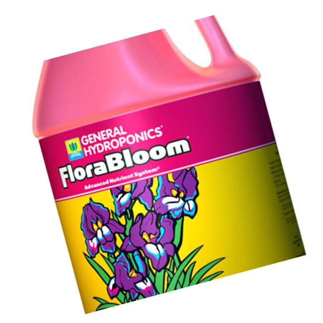 4 x GH1433 General Hydroponics Florabloom Formula 1 Gallon 128 oz (4 Pack) 3