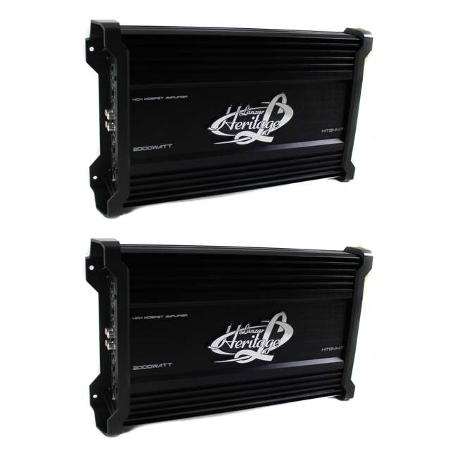 HTG447 Lanzar HTG447 2000W 4 Channel Digital Amplifier (2 Pack)