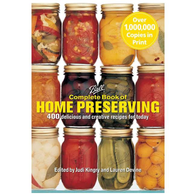 CN100 Firefly Ball Paperback Edition Complete Book of Home Preserving