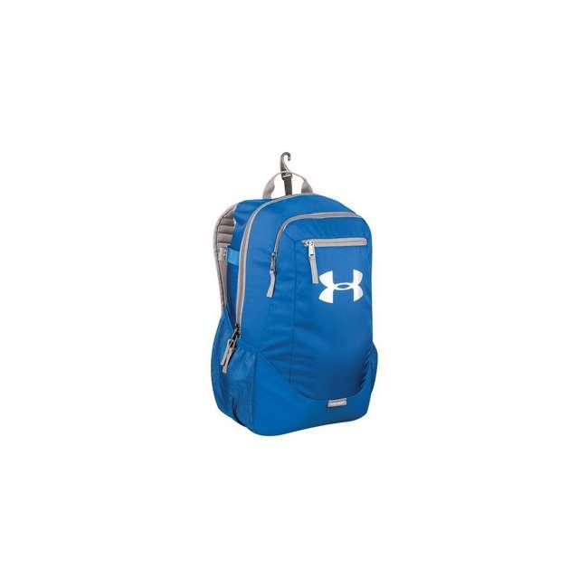 UASB-HBP2-RY Under Armour Hustle II Kids Baseball Softball Bat Backpack Equipment Bag, Blue