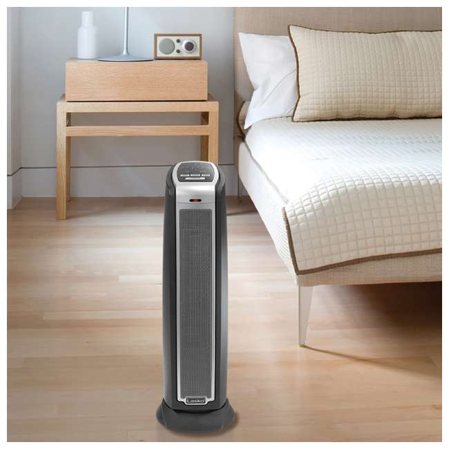 LKO-5790-TN Lasko 5790 Portable Electric 1500W Room Oscillating Ceramic Tower Space Heater 4