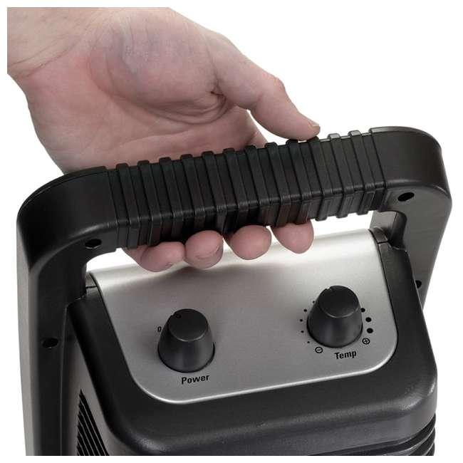 LKO-675945-TN Lasko 675945 Stanley Portable Electric 1500W Ceramic Utility Room Space Heater 4