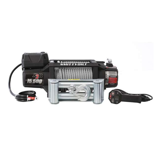 97515-SMITTYBILT Smittybilt X2O Gen2 15,500-Pound Wireless Waterproof Winch 3