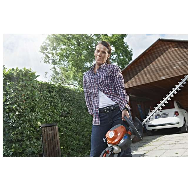 "966808302-BRC-RB-U-C Husqvarna 18"" 22cc Gas Powered Hedge/Clipper Saw Trimmer(Refurbished)(For Parts) 2"