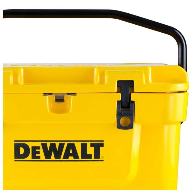 DXC25QT DeWalt 25-Quart Insulated Lunch Box Portable Cooler, Yellow 1