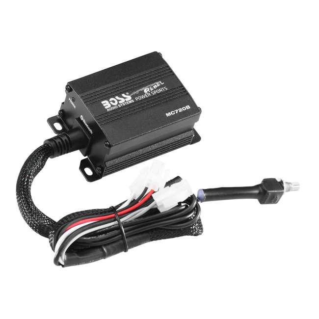 MC720B Boss MC720B 4-Inch Full Range ATV Bluetooth Speakers, Pair 4
