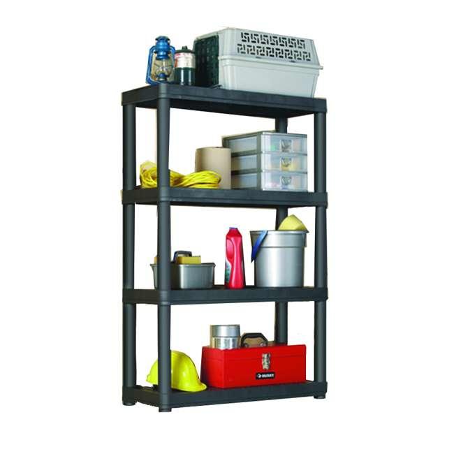 91063MAXIT-1C-30 Gracious Living Heavy Duty Non Adjustable Ventilated Storage Shelving, 4 Shelf 1