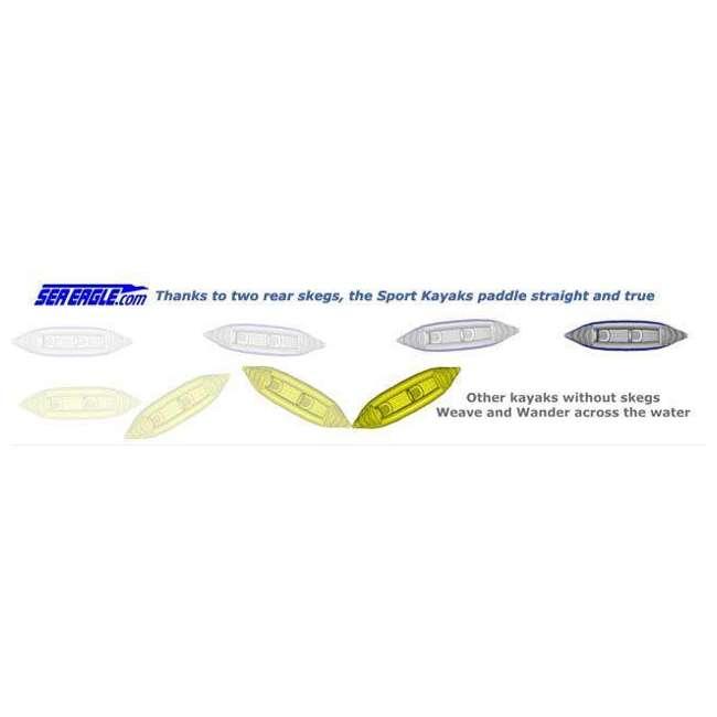 SE330K-DELUXE + 2 x NRS_40013_03_104 Sea Eagle Inflatable Kayak w/ Large Life Vest (2 Pack) 5