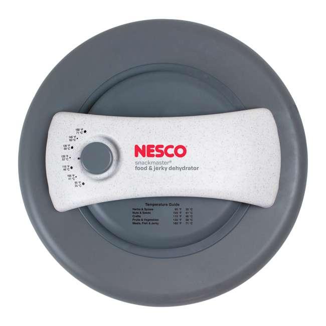 FD-61WHCK Nesco FD-61WHCK 6 Tray 500 Watt Food Dehydrator with Jerky Gun Accessory, White 1