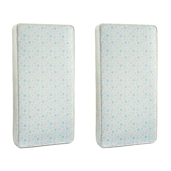 810551-30 Fisher-Price Beddy Bye Baby Foam Crib Mattress (2 Pack)