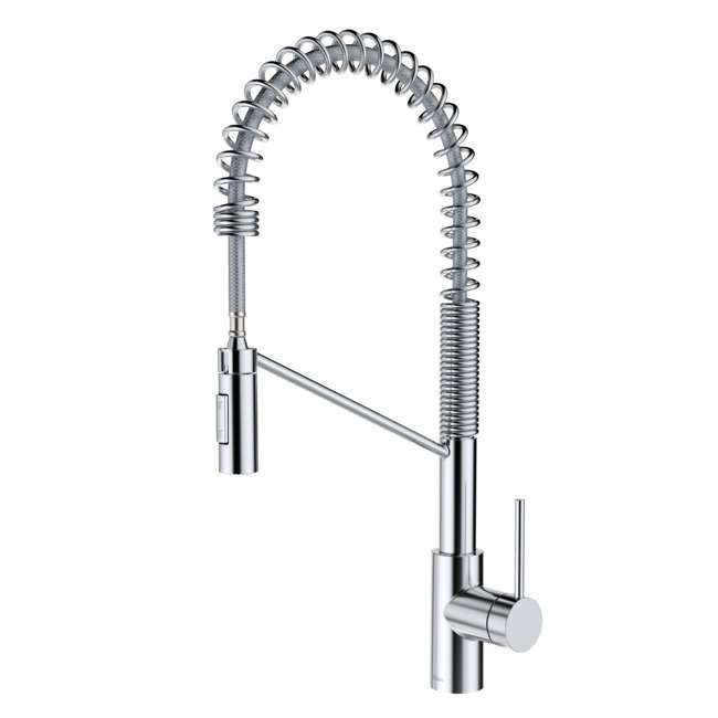 KPF-2631CH-OB Kraus Oletto Single Handle Pull Down Kitchen Faucet, Chrome (OPEN BOX)