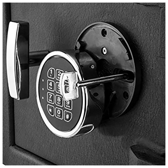 BARSKA-AX12588-OB Barska DX-200 Standard Solid Steel Depository Box Keypad Safe(Open Box) 5