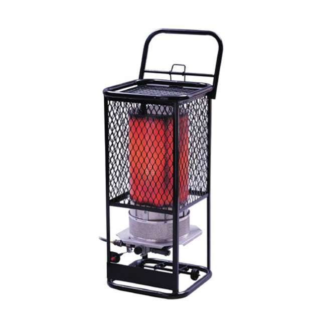 MH-F270800 Mr. Heater 125,000 BTU Portable Radiant Propane Gas Heater w/ Hose Regulator