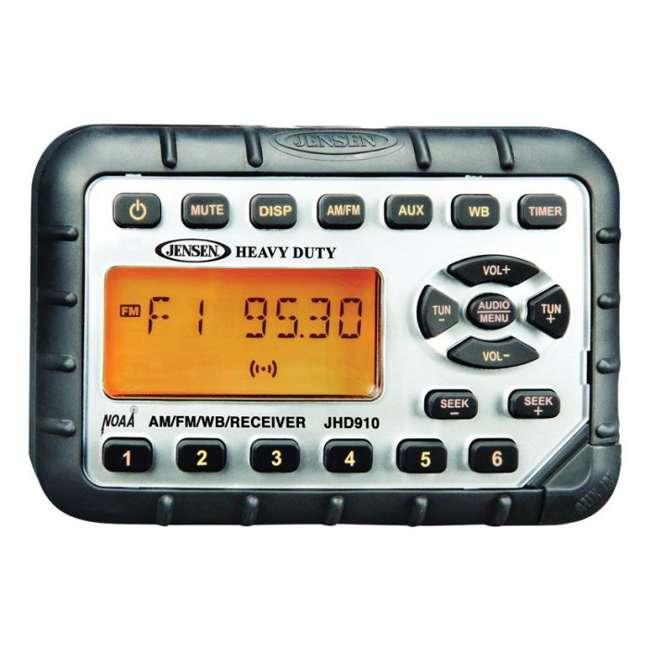 JHD910 Jensen JHD910 Heavy Duty Mini Waterproof Am/fm/wb Radio