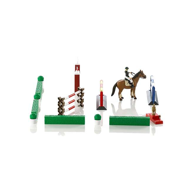 62530-BR Bruder Toys Show Jumping Obstacle Course with Rider and Horse 3