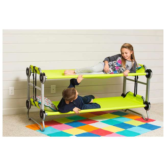 30005BO Disc-O-Bed Youth Kid-O-Bunk with Organizers (2 Pack) 10