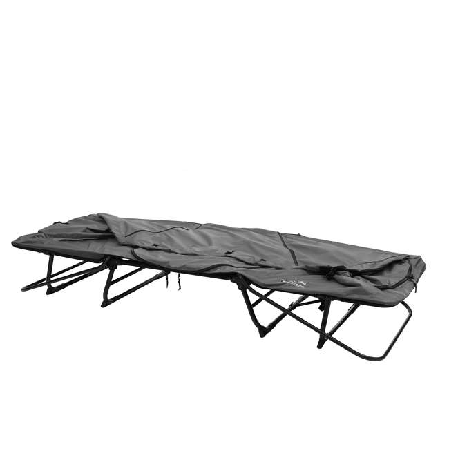 TC247 + KAMPGSB101 Kamp-Rite Original Tent Cot Folding Camping and Hiking Bed for 1 Person + Valuables Storage Bag  5