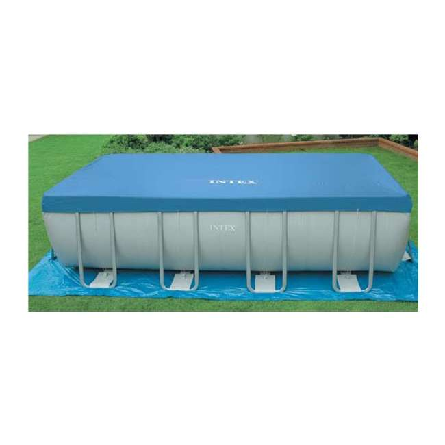 Intex 32 39 X 16 39 X 52 Ultra Frame Rectangular Swimming Pool 54985eg
