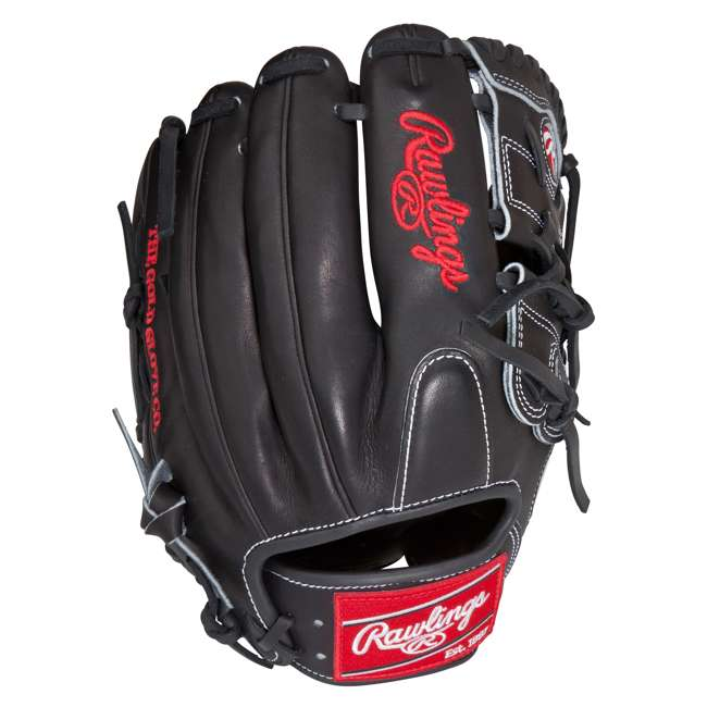 PRO206-9JB Rawlings Heart of the Hide 12-Inch Infield 2-Piece Adult Baseball Glove 1