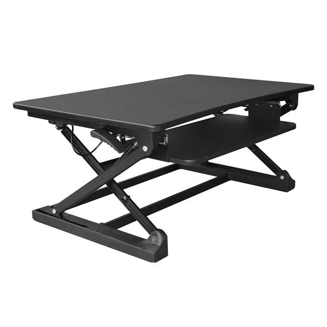 Xec FIT Adjustable Height Convertible Sit To Stand Up Desk Laptop Desktop  Riser : XAFD M1