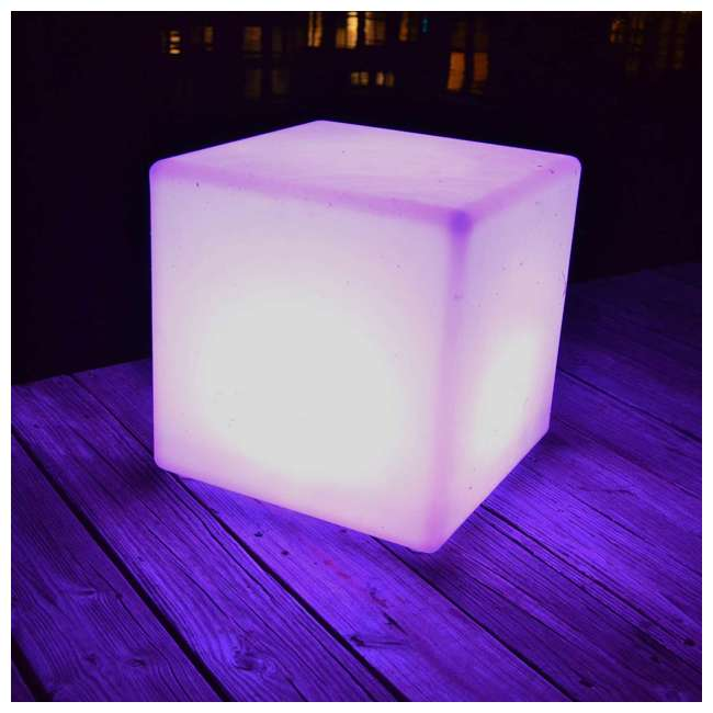 7 x 131784 Main Access 16In Pool Spa Waterproof Outdoor Color Changing LED Light Cube (7) 2