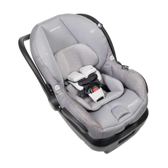 IC306ETL Maxi-Cosi Mico Max Plus Rear Facing MaxShade Canopy Infant Car Seat, Nomad Gray 3