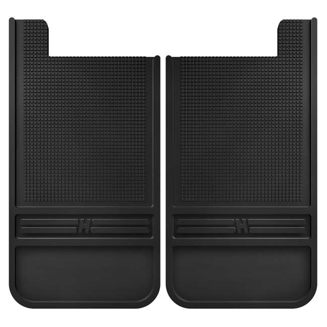 55000-12in-front-mud-flaps Husky Liners Rubber Front Mud Flaps - 12 in 55000 (Open Box)